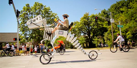 Dinosaur Skeleton Tricycle