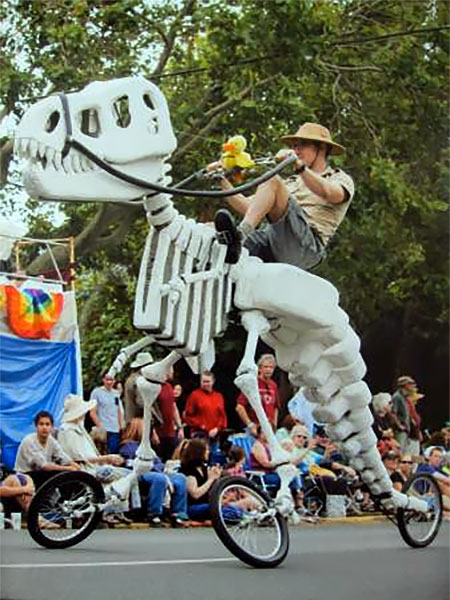 T-Rex Skeleton Tricycle
