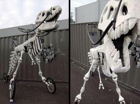 Dinosaur Skeleton Bike