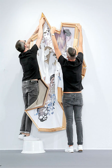 Viktor and Rolf Wearable Paintings