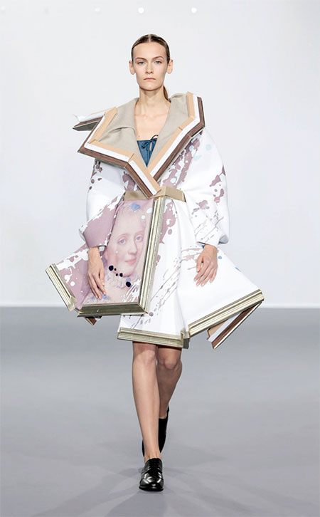 Viktor and Rolf Wearable Painting