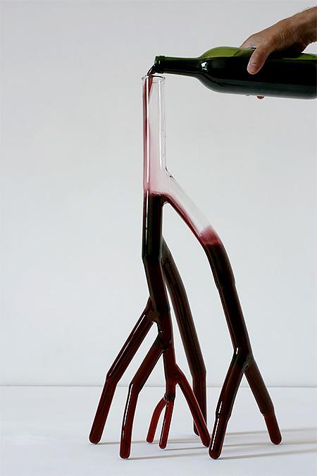 Etienne Meneau Wine Carafes