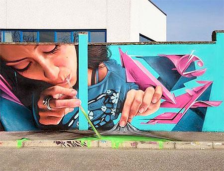 Caiffa Cosimo Street Art