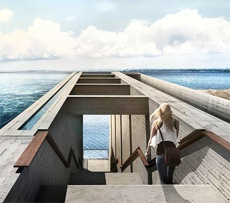 Mountain Cliff House Concept