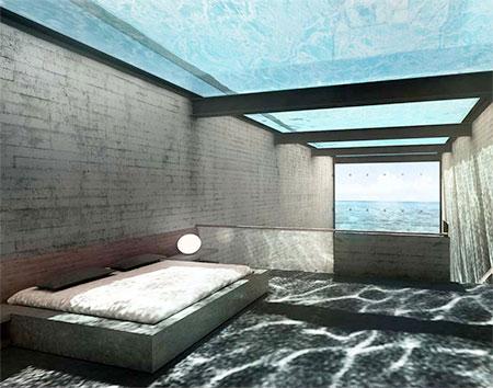 Concrete Cliff House