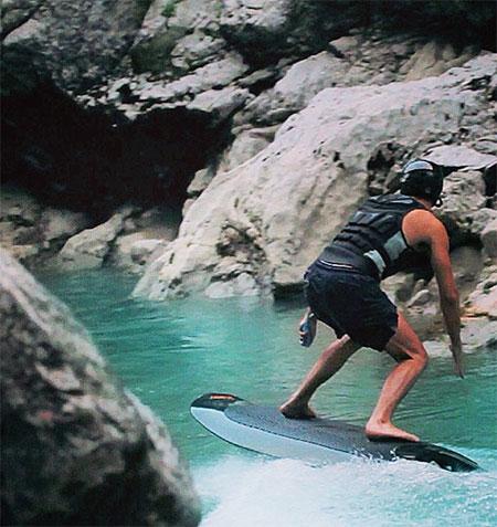 Innovative Wakeboard