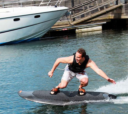 Electrically Powered Wakeboard