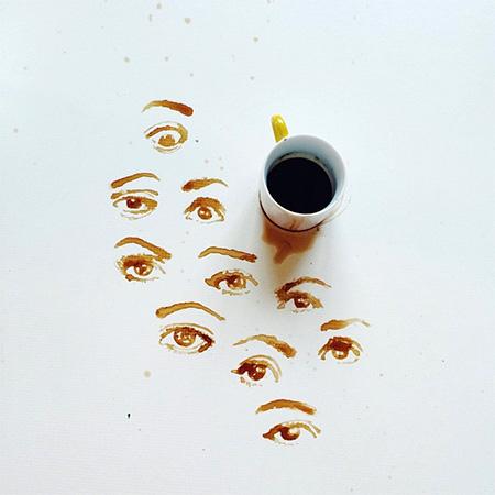 Coffee Art by Giulia Bernardelli