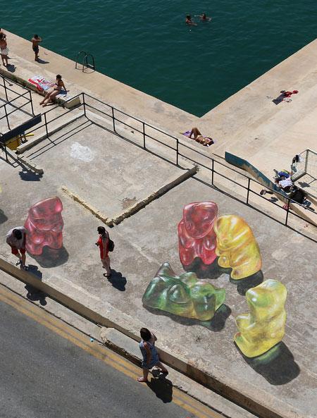 Gummybear Street Art