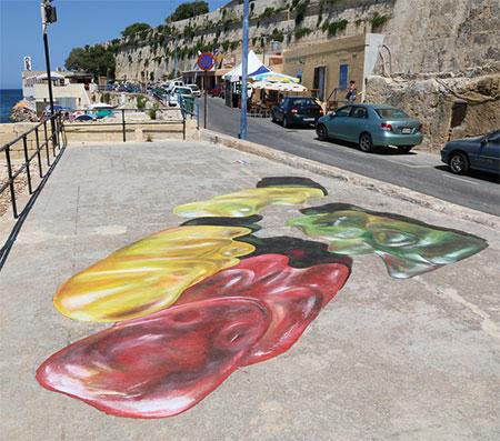 Gummi Bear Street Art