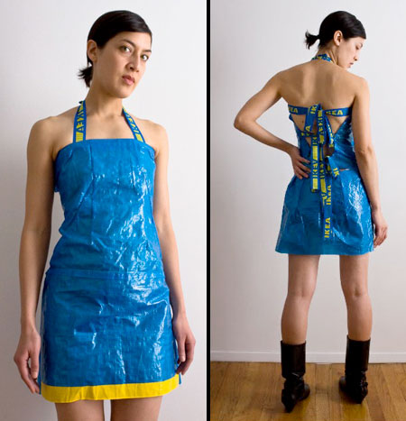 Adriana Valdez Young IKEA Dress