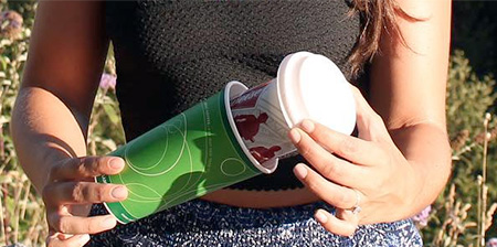 Coffee Cup Beer Koozie