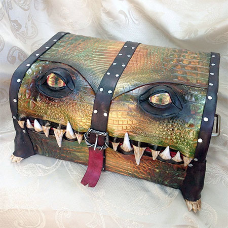 Monster Suitcase