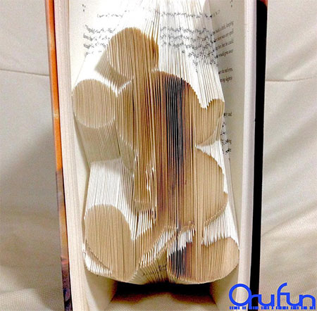 Folded Pages Book Art