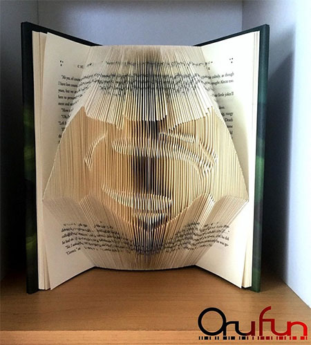 Folding Pages Book Art