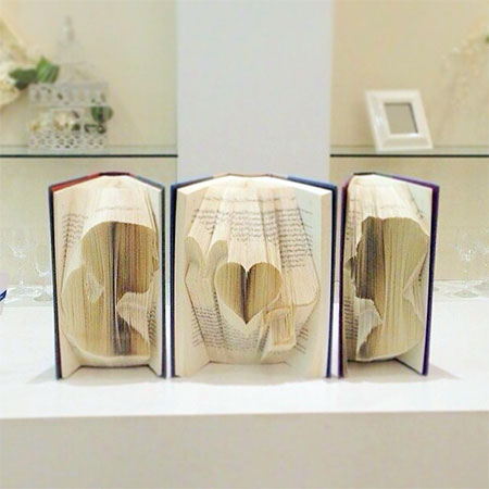 Non Destructive Book Art
