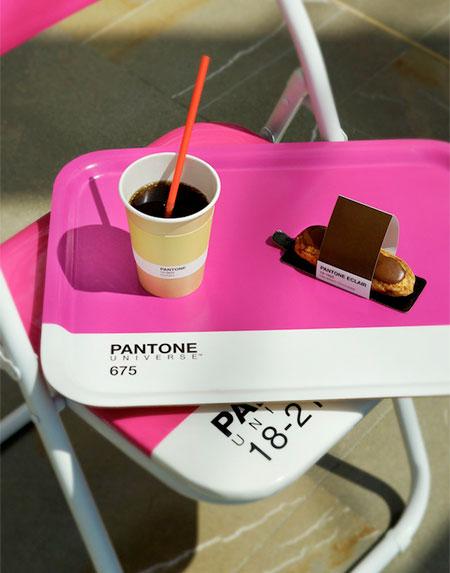 Pantone Cafe in Monaco