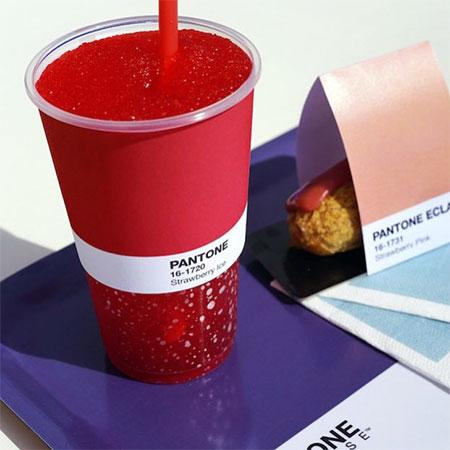Pantone Pop Up Cafe