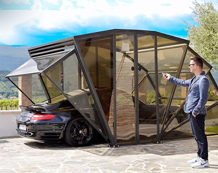 Foldable Garage