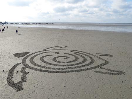 BeachBot Sand Drawing Robot