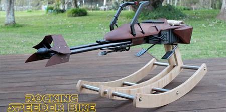 Speeder Bike Rocking Horse