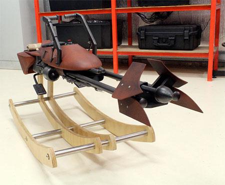 Star Wars Speeder Bike Rocking Horse