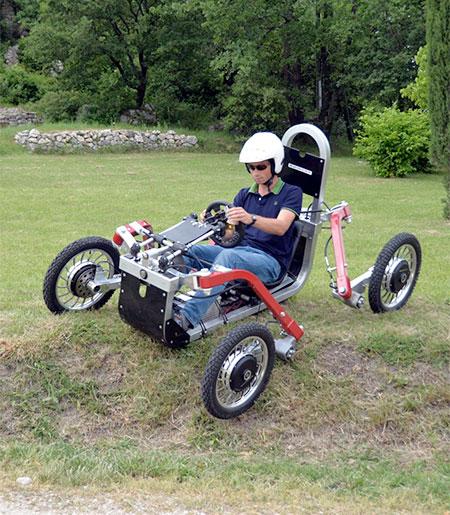 Spider Electric Car