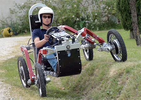 Spider Electric ATV