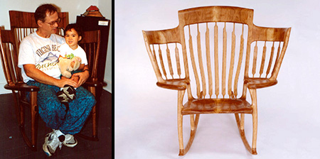 Story Time Rocking Chair