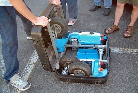 Go-Kart in a Suitcase