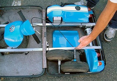 Luggage Go-Kart