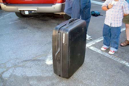 Suitcase Vehicle