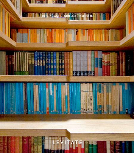 Levitate Bookcase Staircase