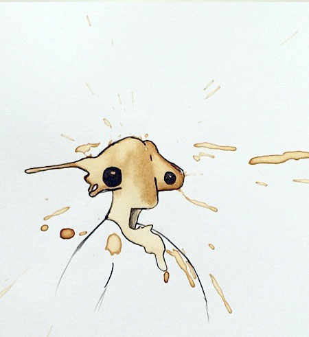 Coffee Spills Drawings