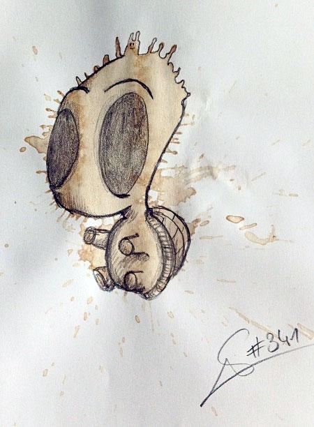 Coffee Spills Art