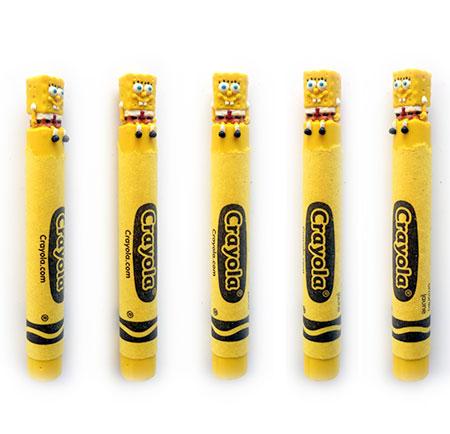 SpongeBob SquarePants Crayon