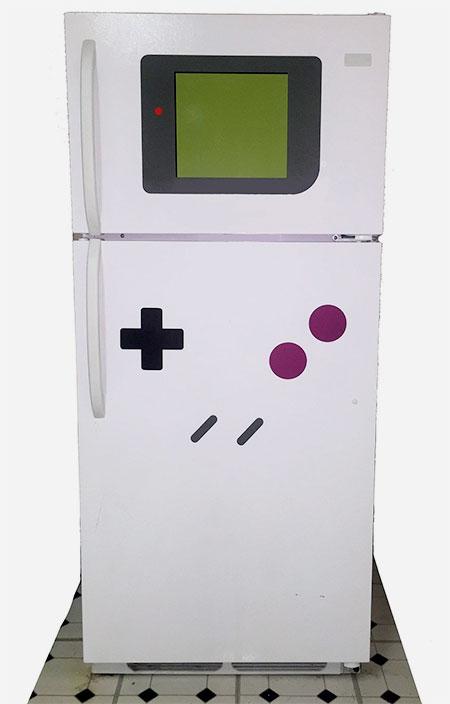 Game Boy Refrigerator Magnet