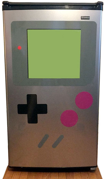 Game Boy Refrigerator Magnet Set