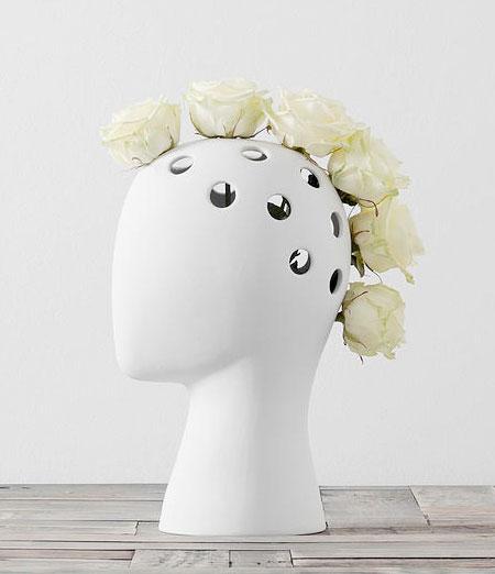 Tania da Cruz Human Head Vase