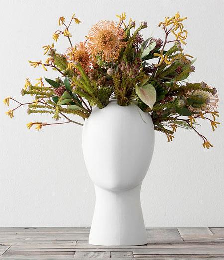 Haircut Vase