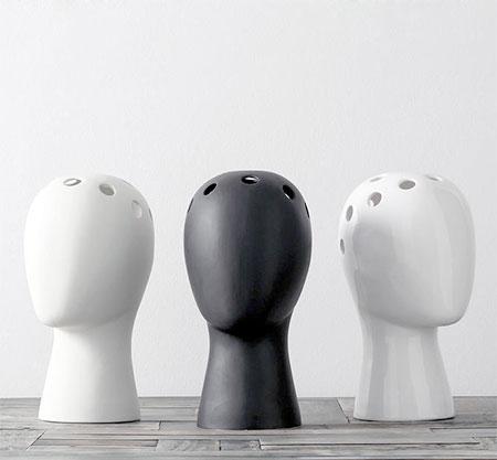 Wig Vase by Tania da Cruz
