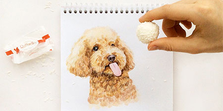 Interactive Dog Art