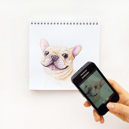 Interactive Dog Artworks