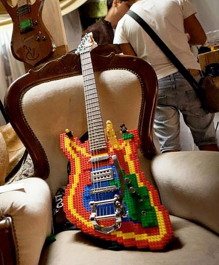 Nicola Pavan LEGO Guitar