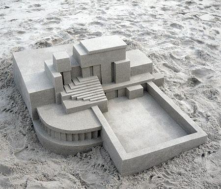 Modern Sandcastle
