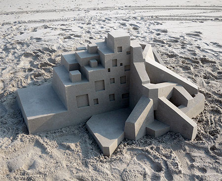 Modern Sand Castle