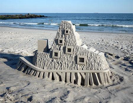 Sand Artist Calvin Seibert