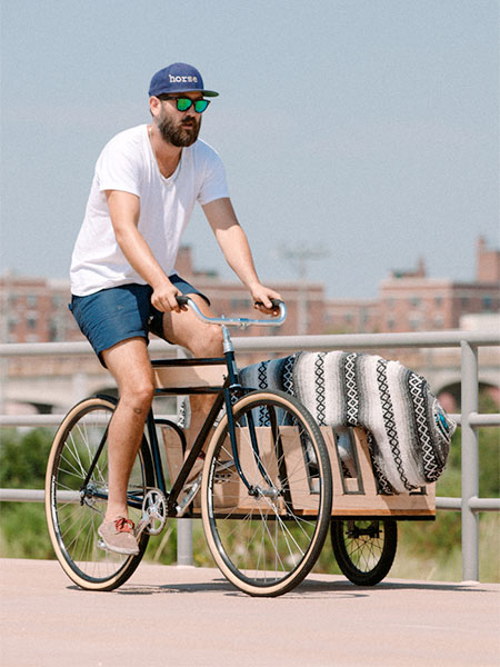 Surfboard Bicycle