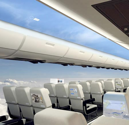 Aerospace Windowless Airplane