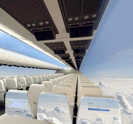 Aerospace Windowless Aircraft